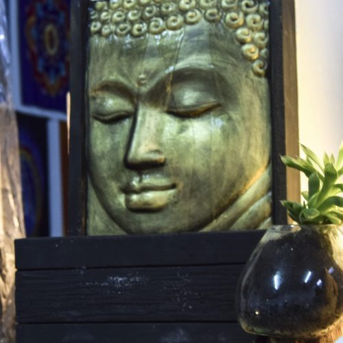 Buddha Face Fountain. Selection of Buddha Statues in Cyprus. Cyprus and international shipping.