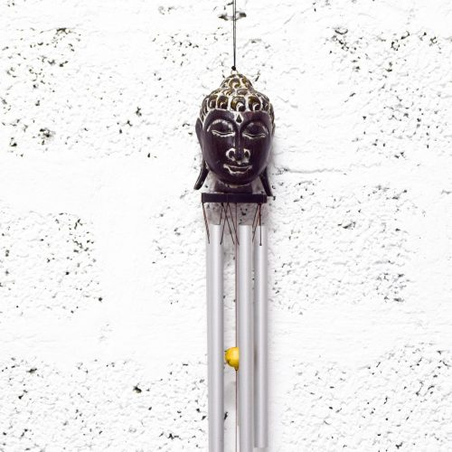 Wind Chime Buddha at Gaia Center Cyprus.