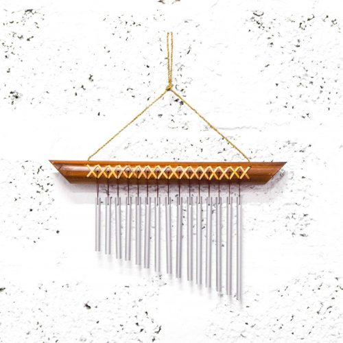 Wind Chime Bamboo at Gaia Center Cyprus.