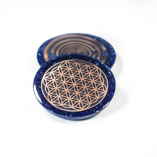 Orgonite Flower of Life at Gaia-Center in Cyprus.