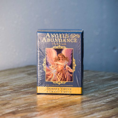 Angels of Abundance Oracle cards by Doreen Virtue and Grant Virtue at Gaia-Center in Cyprus.