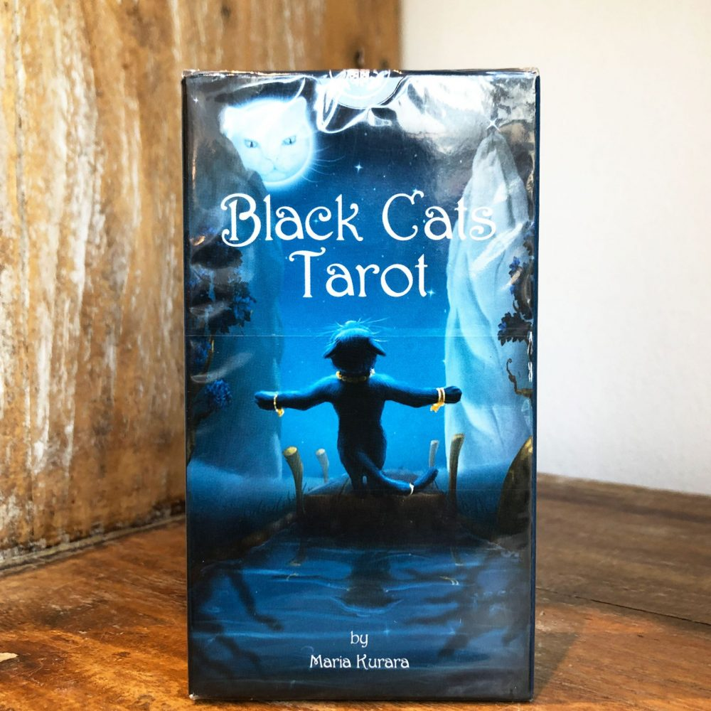 Black Cats Tarot Deck to buy online at Gaia-Center Shop Cyprus