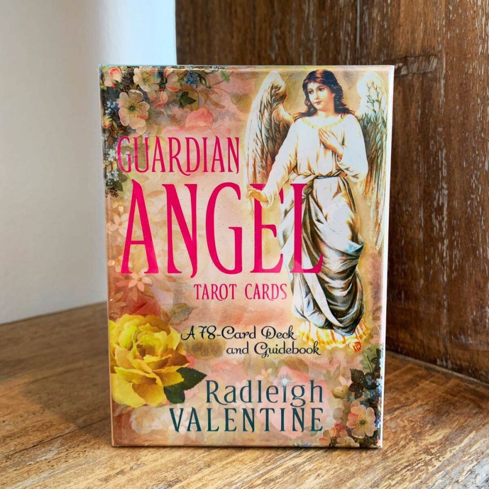 Guardian Angel Tarot Cards Deck by Radleigh Valentine to buy online at Gaia-Center Shop Cyprus