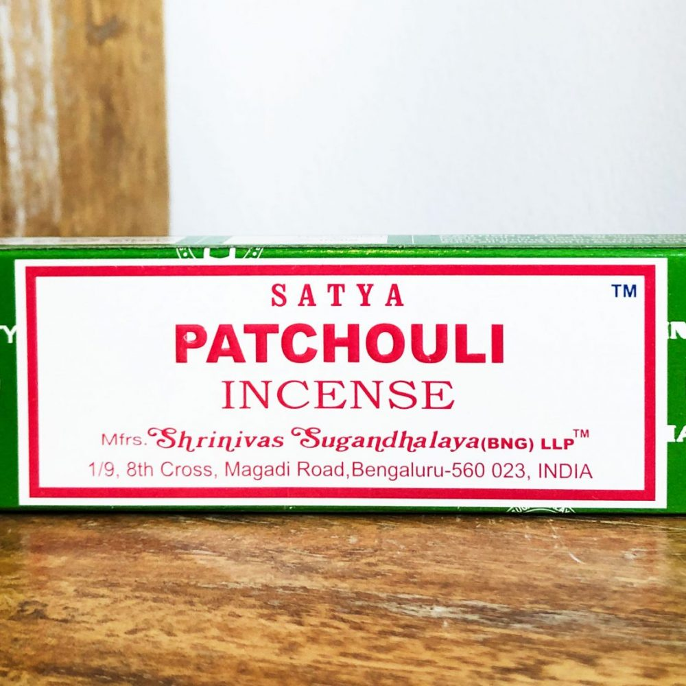 Patchouli Satya Incense Sticks Pack to buy at Gaia-Center Shop in Cyprus