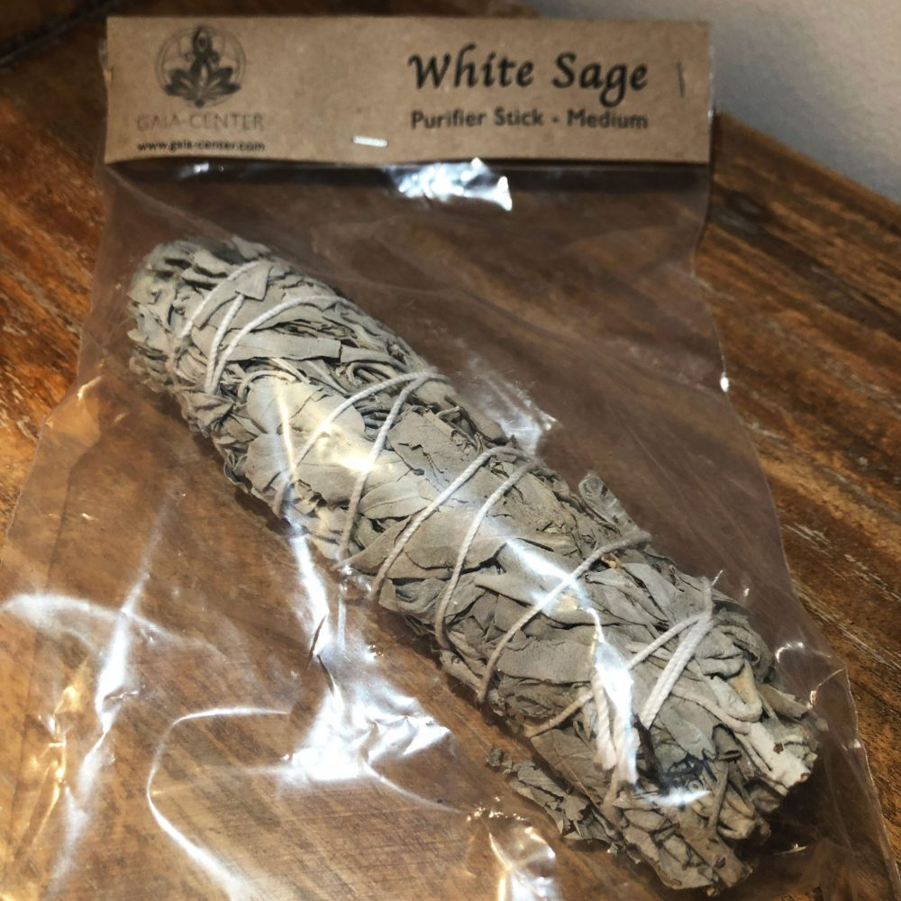 Californian White Sage Smudge Stick by Gaia-Center Shop in Cyprus.