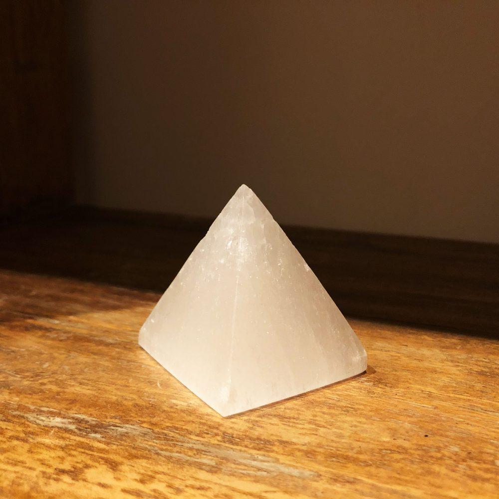 Selenite Pyramid at Gaia-Center Cyprus