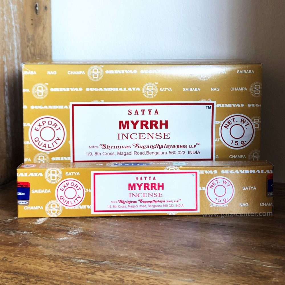 Myrrh Incense Sticks by Satya