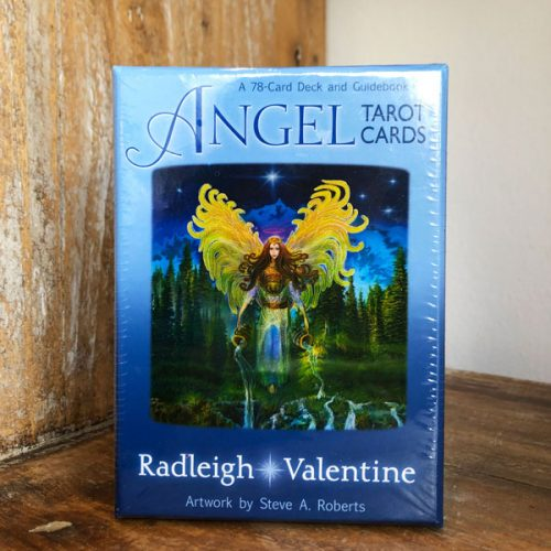 Angel Tarot cards by Radleigh Valentine at Gaia-Center in Cyprus.