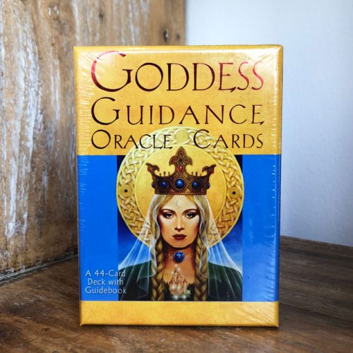 Goddess Guidance Oracle Cards by Doreen Virtue at Gaia-Center in Cyprus.