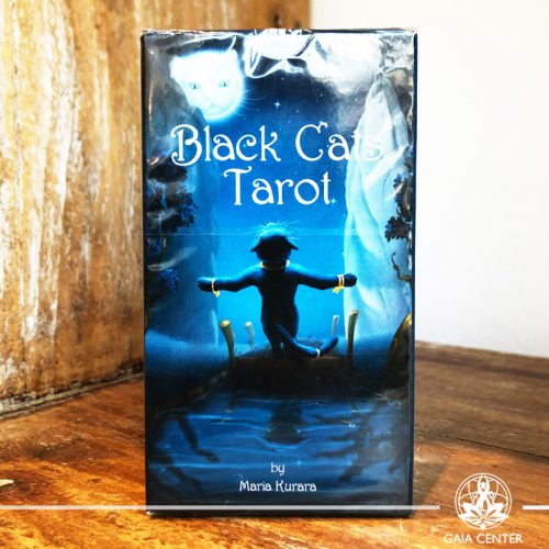 Tarot and Oracle Cards selection in Cyprus at Gaia Center. Black Cats Tarot. Cyprus and International shipping.