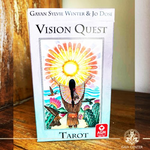 Tarot and Oracle Cards selection in Cyprus at Gaia Center. Vision Quest Tarot. Cyprus and International shipping.