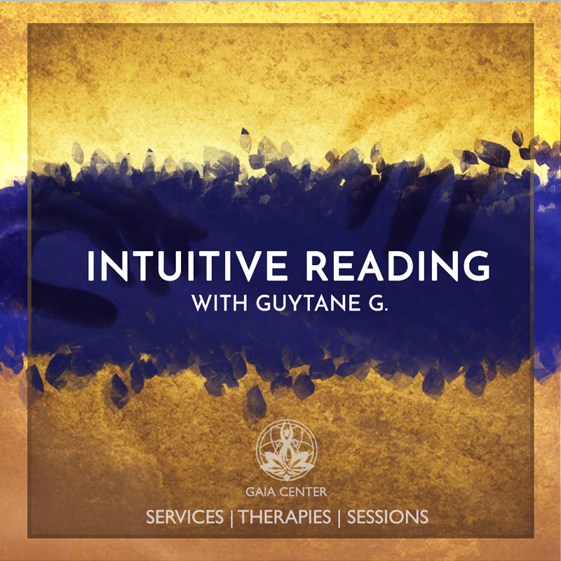 Intuitive reading or guidance, psychic reading with Guytane G. at Gaia Center in Cyprus. Booking is now open at: https:www.gaia-center.com