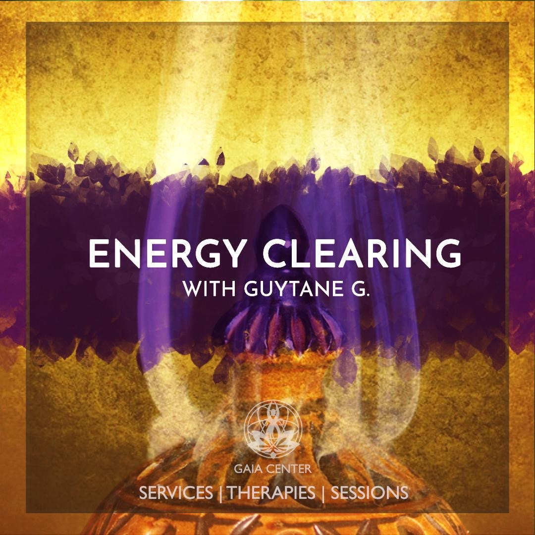 Energy Clearing & Chakra Balancing therapy