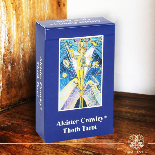 Aleister Crowley Thoth Tarot Cards Deck at Gaia Center.