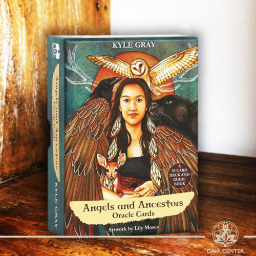 Tarot and Oracle Cards selection at Gaia Center in Cyprus. Angels and Ancestors Oracle Cards by Kyle Gray. Cyprus and International shipping.