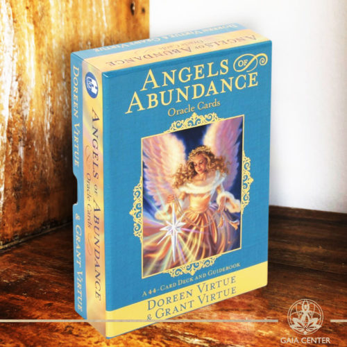 Angels of Abundance Oracle Cards by Doreen Virtue at Gaia Center.