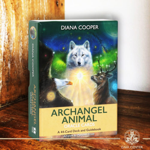 Archangel Animal Oracle Cards Deck at Gaia Center.