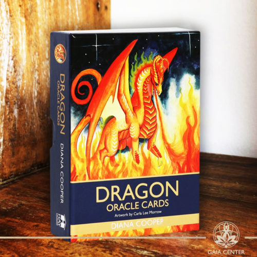 Dragon Oracle Cards Deck at Gaia Center.