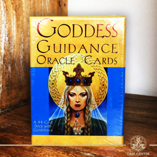 Goddess Guidance Oracle Cards by Doreen Virtue at Gaia Center in Cyprus.