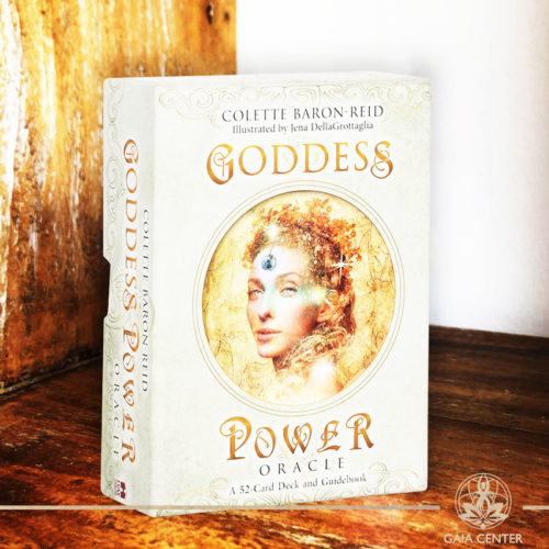 Goddess Power Oracle Cards Deck at Gaia Center.