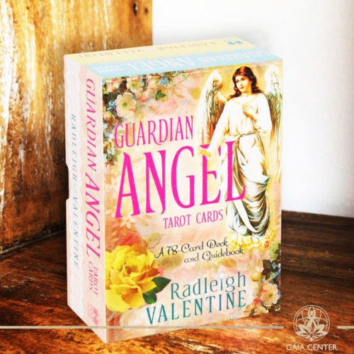 Guardian Angel Tarot Cards by Radleigh Valentine at Gaia Center.