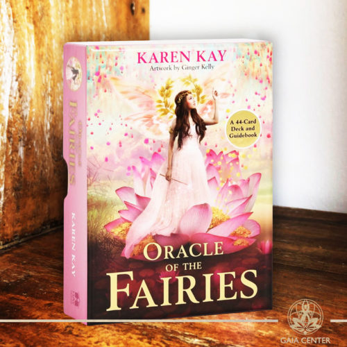 Tarot and Oracle Cards selection at Gaia Center in Cyprus. Oracle of the Fairies by Karen Kay. Cyprus and International shipping.