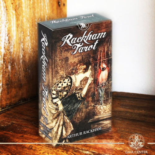 Tarot and Oracle Cards selection at Gaia Center in Cyprus. Rackham Tarot Cards. Cyprus and International shipping.