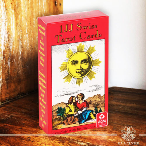 Tarot and Oracle Cards selection at Gaia Center in Cyprus. IJJ Swiss Tarot Cards. Cyprus and International shipping.