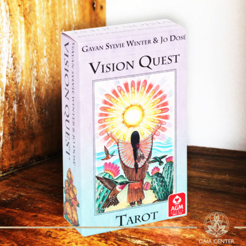 Vision Quest Tarot at Gaia Center in Cyprus.