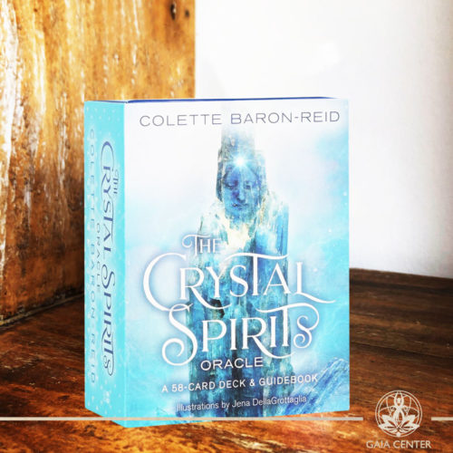 The Crystal Spirit Oracle Cards by Colette Baron-Reid at Gaia Center | Cyprus.
