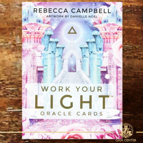 Work Your Light Oracle Cards - Rebecca Campbell at Gaia Center | Cyprus.