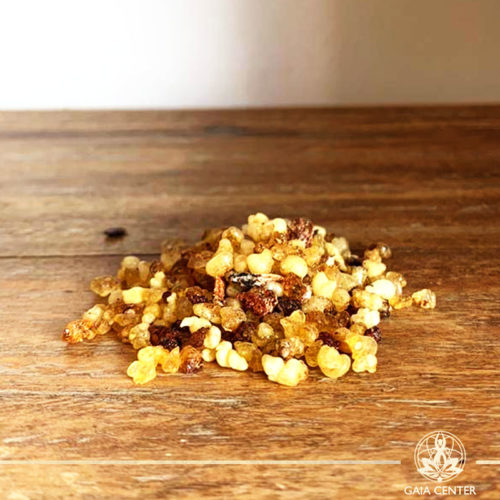 Frankincense Resin for space clearing and smudging at Gaia Center | Cyprus.