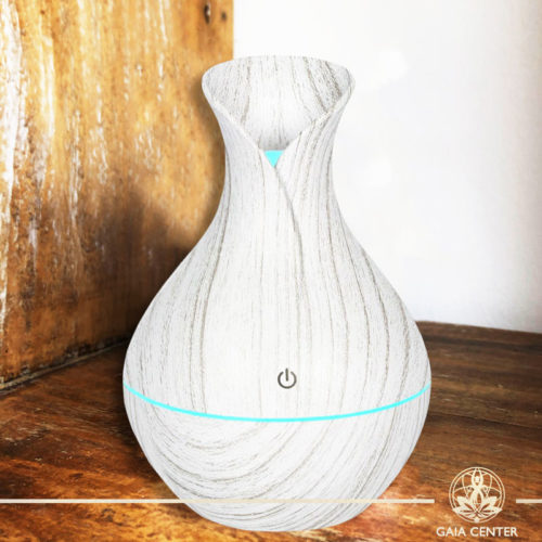Aroma Diffuser | Aroma Humidifier Light Grey Design. Gaia Center | Cyprus.
