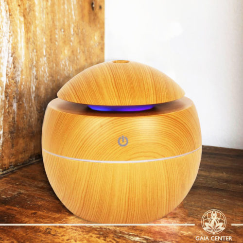 Aroma Diffuser | Aroma Humidifier Wooden Design. Gaia Center | Cyprus.
