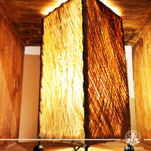 Lamp Wooden Skin from Bali. Gaia Center   Cyprus.