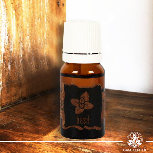 Essential Oil Basil 10ml. 100% natural and pure at Gaia Center | Cyprus.