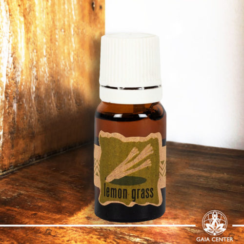 Essential Oil Lemon Grass 10ml. 100% natural and pure at Gaia Center | Cyprus.