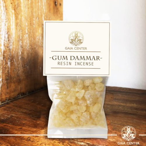 Gum Dammar incense resin. Gaia Center | Cyprus