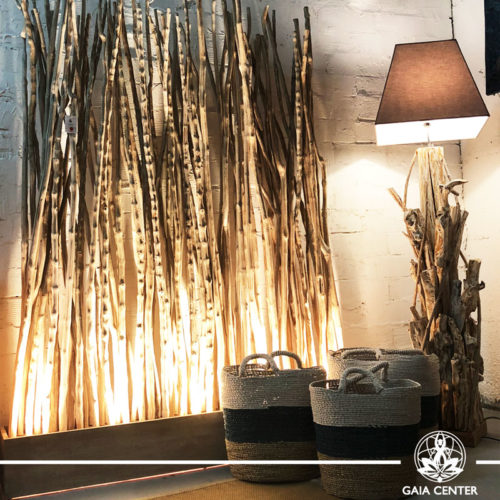 Wooden Divider Teakwood from Bali at Gaia Center | Cyprus.