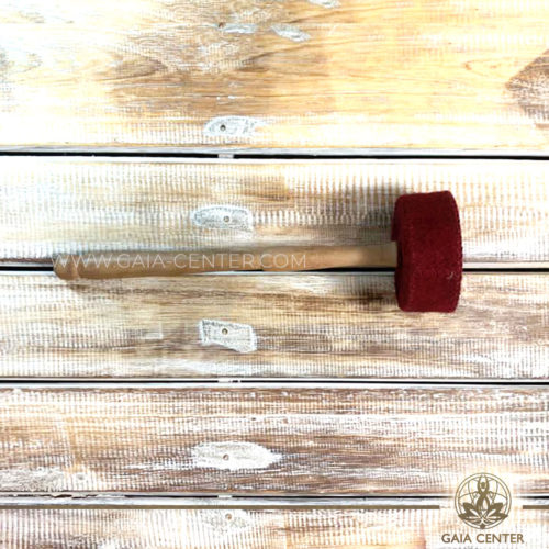 Mallet | Wooden stick for Tibetan Sining Bowls. Original top quality singing bowls and mallets from Nepal at GAIA CENTER | CYPRUS. Cyprus delivery to: Limassol, Paphos, Nicosia, Larnaca, Paralimni, Strovolos. Including provinces and small suburbs. Europe and International Worldwide shipping. Wholesale and Retail. Shop online for Singing Bowls: https://gaia-center.com