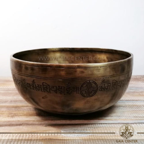 Tibetan Sining Bowl metal for Sound Healing Therapy at GAIA CENTER | CYPRUS. Original from Nepal. Cyprus delivery to: Limassol, Paphos, Nicosia, Larnaca, Paralimni, Strovolos. Including provinces and small suburbs. Europe and International Worldwide shipping. Wholesale and Retail. Shop online for Singing Bowls: https://gaia-center.com