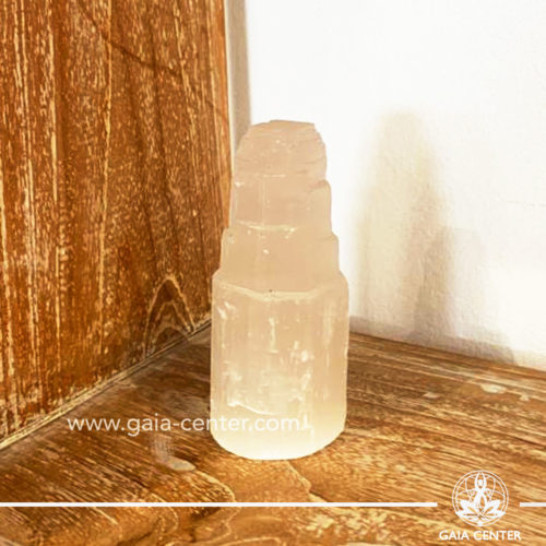 Selenite crystal mountain at Gaia Center| Cyprus.