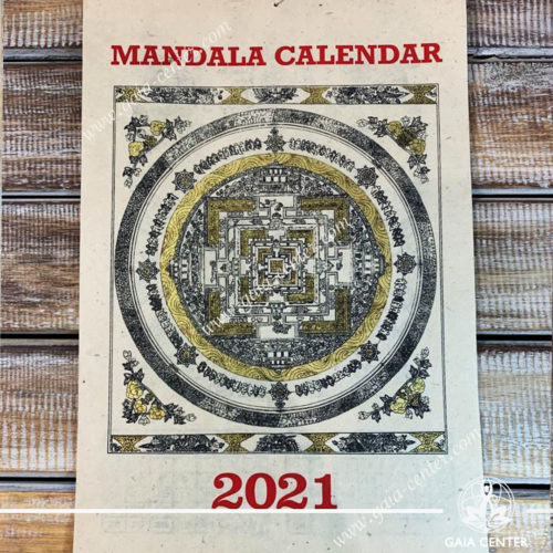 Mandala Calendar 2021 at Gaia Center | Cyprus.