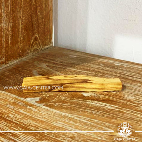 Palo Santo wood stick for smudging at Gaia Center | Cyprus.