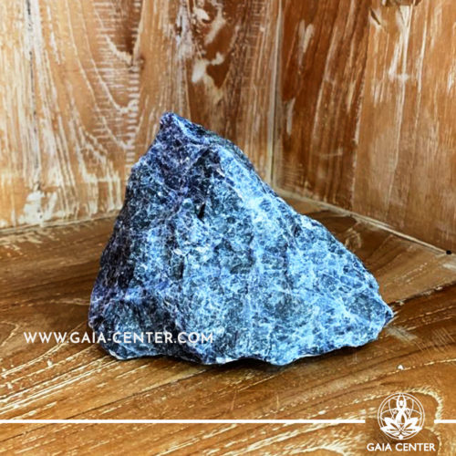 Crystal Sodalite Natural form cluster from Brazil. Crystal size: H:100mm L:230mm W:80mm Crystal and Gemstone selection at Gaia Center | Cyprus.
