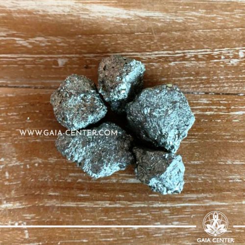 Crystals rough Pyrite Chispa from Peru rough stones. Crystals and semiprecious gemstone selection at GAIA CENTER | Cyprus.