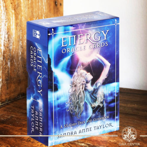 Energy Oracle Cards Deck by Sandra Anne Taylor. A 53 card deck and guidebook. Tarot | Oracle | Angel Cards selection at Gaia Center | Cyprus.