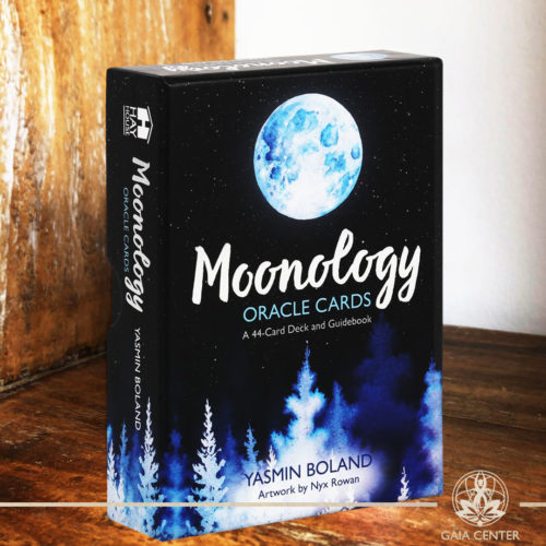 Moonology Oracle Cards Deck by Yasmin Boland. A 44 card deck and guidebook. Tarot | Oracle | Angel Cards selection at Gaia Center | Cyprus.
