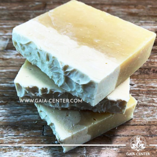 Natural Organic Soap Bar - Beer and Shea Butter. Base ingredients: Olive Oil, Coconut Oil, Castor oil, and Shea Butter, Beer, Essential oils blend, and more. Natural Soaps selection at Gaia Center in Cyprus available for online orders and Cyprus/ International Delivery.