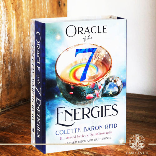 Oracle of the Seven Energies Cards Deck by Colette Baron-Reid. A 49 card deck and a guidebook. Tarot | Oracle | Angel Cards selection at Gaia Center | Cyprus.